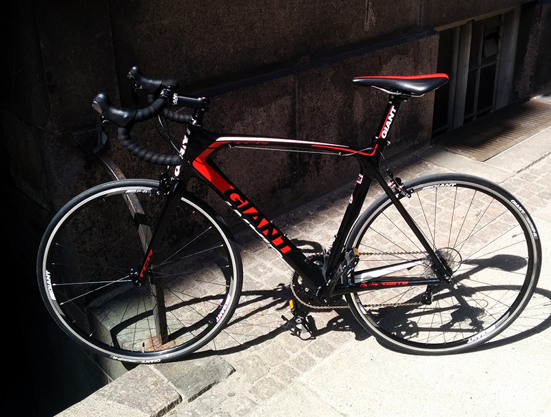 Giant TCR Composite 2 Ultegra/105-mix
